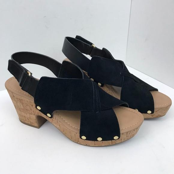 b6e20889087 Franco Sarto Shoes - Franco Sarto Kicks Studded Platform Sandal EUC 9.5